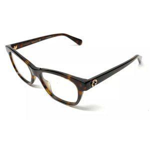 Gucci Women's Havana Authentic Eyeglasses